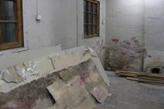 Vahat seinät odottavat siirtolavaa